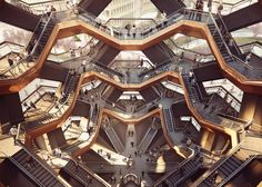 Heatherwick unveils staircase structure for New York's Hudson Yards