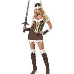 Adult Deluxe Sexy Viking Vixen Costume