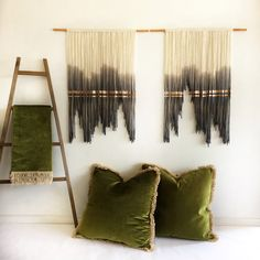 Our Copper Lines, Pair of Small Tapestries