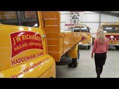 DAF Trucks UK | Jack Richards & Son selects DAF for fleet renewal programme - YouTube