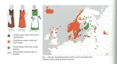 Different version of the same graphic. Gotlandish vs. Scandinavian vs. Finnish brooch distribution in graves
