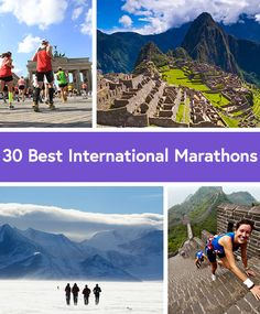 The 30 Best Marathons in the Entire World via @dailyburn