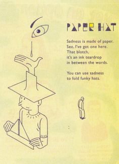 Paper Hat by Joost Swarte from the Parade #6