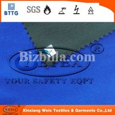 YSETEX 100 cotton/nylon FR water proof twill fabric for safety clothing