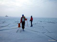 On the thin ice. Espoo, Finland