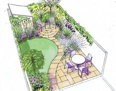 40 Tips Easy To Make Small Garden Design Ideas - There's No Place Like Home. - Tips Easy To Make Small Garden Design Ideas - Small Garden Layout, Small Garden Plans, Garden Design Plans, Small Garden Design, Small Back Garden Ideas, Back Garden Ideas Budget, Garden Layouts, Small Garden Planting Ideas, Backyard Layout