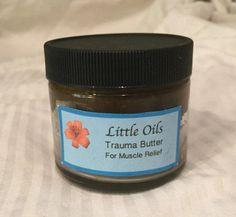 Body Butter - Trauma Oil Butter - Organic Kombo Butter - Pain Relief Body Butter - Natural Healing Cream - Organic Shea Body Butter by LittleOils on Etsy