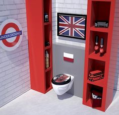 1000 images about id es d co toilettes on pinterest toilet paper deco and toilets - Deco wc modern ...
