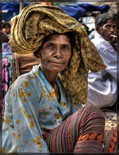 Market Lady In Indonesia by NeilsPhotography, via Flickr