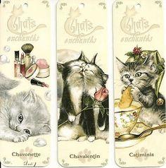 3 petits chats.  Gif animé