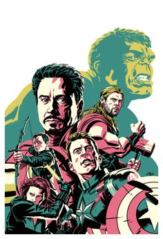 The Avengers by Michael Cho