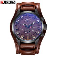 Curren Men's Military/Army Steampunk Watch