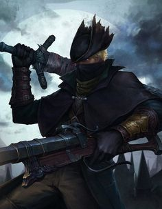 Enjoy Another Epic Cosplay Dump But This Time Labelled And With Pictures of the Original Characters. Bloodborne Characters, Bloodborne Game, Fantasy Characters, Old Blood, Dark Blood, Dark Souls Art, Blood And Bone, Epic Cosplay, The Originals Characters