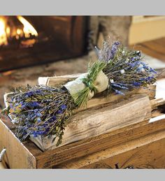 Aromatic Lavender Fire Starter Bundle