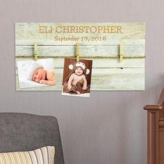 Rustic Baby Wood Palette Plaque