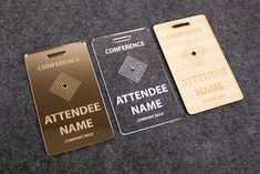 Whether you need employee name tags, conference and event badges, desk name plates or personalized luggage tags, this guide will make the process easy.