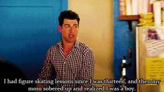 When Schmidt was very revealing about his childhood.