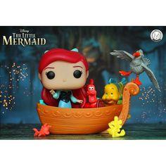 Little Mermaid, Funko pop Funko Pop Dolls, Funko Pop Figures, Pop Vinyl Figures, Vinyl Toys, Funko Pop Vinyl, Funko Pop Display, Disney Wishes, Disney Pop, Pop Toys
