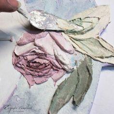 #Процесс Вот такие цветочки получаются. #скульптурнаяживопись #детали…