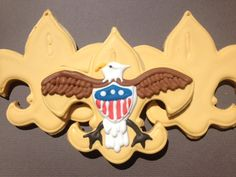 Eagle Scout Decorated Sugar Cookies (One Dozen)