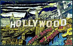 """art work by Paul Maler / Hollywood """"Time shall be no more"""""""