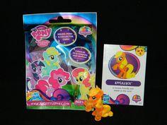 My Little Pony G4 FiM Apple Jack #1 Rainbow Power Blind Bag w/Card [1a] #Hasbro
