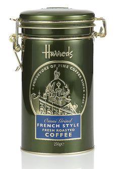 Harrods tea packaging