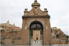 Puente de Alcántara Toledo - Viajando con Abraham