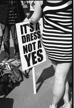 The SlutWalk protest marches began on April in Toronto, Ontario, Canada. - The SlutWalk protest marches began on April in Toronto, Ontario, Canada. Feminist Quotes, Feminist Art, Shotting Photo, Women Rights, Protest Signs, Protest Posters, Power To The People, Equal Rights, Powerful Women
