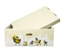 מדוע הורים מפינלנד משכיבים את התינוקות שלהם בקופסה?