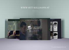Logodesign branding and design KATJA KOMMT - Hut & Mode Kollmann in Metnitz – New brand Design Corporate Design | Karin und Josef Kollmann Webdesign © www.katjakommt.at Logodesign, Web Design, Corporate Design, Fashion Styles, Mad Hatters, Communication, Design Web, Brand Design, Website Designs
