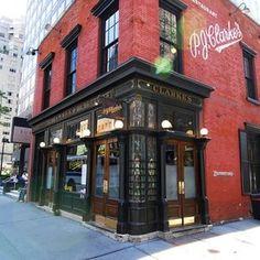 """P.J. Clarke's - Thrillist New York - P.J. Clarke's (click here for address and info) Episode: """"Hobo Code"""": Season 1, Episode 8 The Scene: Pete doesn't like the successful, self-assured Peggy. And he will not dance the twist with you, or anyone. Today:""""No Internet jukebox on our watch!"""" says P.J. Clarke's. Sure, it has """"compact discs"""", but who even knows what those are! The Sidecar is first on the cocktail list, so if you're feeling nostalgic for a time when you weren't alive, go for it. It…"""