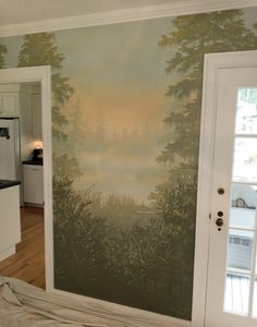 Painted Walls, Oversized Mirror, Oriental, Landscapes, Painting, Furniture, Home Decor, Art, Deceit