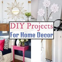 I have presented a list of DIY bed frame to make your bedroom fabulous. All of them are easy and cheap diy bed ideas and fit your budget. Diy Simple, Easy Diy, Diy Makeup Vanity Plans, Porch Decorating, Decorating Your Home, Bamboo Crafts, Outdoor Curtains, Recycling, Diy Home Decor Projects