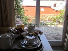 Desayuno en Villa Rosa - Positano - Costa Amalfitana Italia 2011