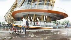FOOTBRIDGE CAFÉ RESTAURANT & BIKE STORE | SAINT VAL Laurent #Bike #Restaurant