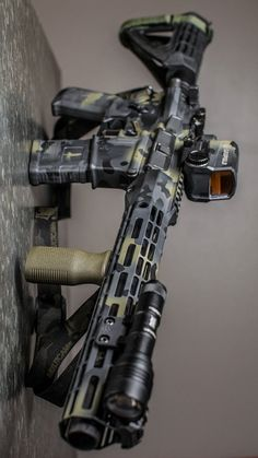 Build Your Sick Cool Custom Assault Rifle Firearm With This Web Interactive Firearm Builder with ALL the Industry Parts - See it yourself before you buy any parts Military Weapons, Weapons Guns, Airsoft Guns, Guns And Ammo, Custom Ar, Custom Guns, Armas Ninja, Ar Pistol, Battle Rifle