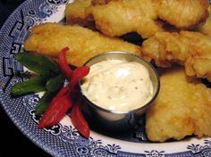 Make your own shrimp batter (long John Silver). This was great with dipping sauce, might be dry without unless you add some spices.