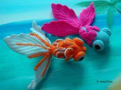 Tuto Crocheted Fish