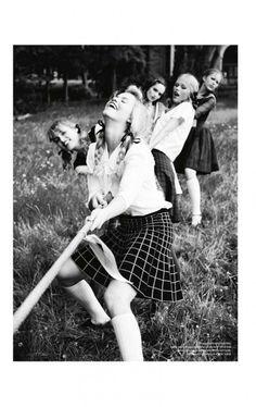 vs magazine ellen von unwerth2 756x1200 Ellen von Unwerth Takes Us Back to School for Vs. Magazine Shoot