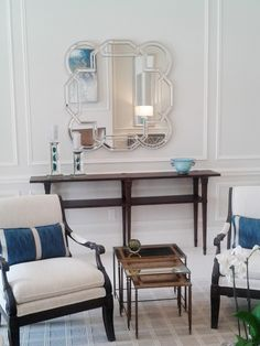 """Check out this submission of our Aleena Mirror in a Living Room Designed by Claudia Nasra Design in West Palm Beach, CA...............""""Claudia Nasra Design provides high-end residential interior design and interior architectural services. Attention to detail and adherence to the client's aesthetic goals are constant principles in every project undertaken."""" #HowardElliottMirror #LivingRoomMirror Residential Interior Design, Interior Architecture, Living Room Mirrors, Living Rooms, Architectural Services, West Palm, Submission, Palm Beach, Living Room Designs"""