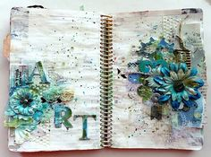 Artsy Lynn: Art Journaling in 3 styles