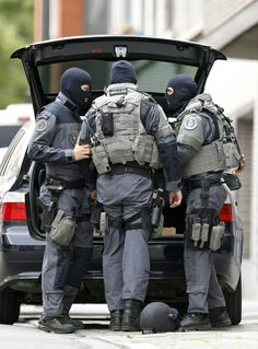 Belgian Police Special intervention Unit