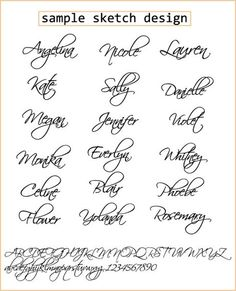 Script font name jewelry  Custom name necklace   by barbabelle88 (etsy), $25.00