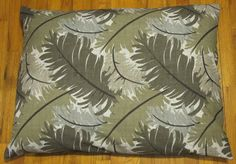 SALE Medium Dog Bed  Washable Recycle Your Old by KentuckyBluebird, $28.00