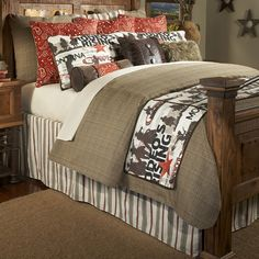 Cowboy Rodeo Bedding Collection