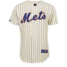04f465ce97f MLB Baseball Trikot Jersey NEW YORK NY METS creme in XL  Amazon.de  Sport    Freizeit