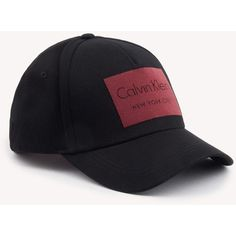 e653ad4afe8 Calvin Klein CK Jeans Baseball Cap ( 43) ❤ liked on Polyvore featuring  accessories