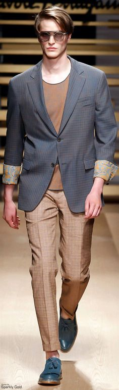Salvatore Ferragamo | Men's Fashion & Style | Menswear | Men's Outfit for Spring/Summer | Moda Masculina | Shop at designerclothingfans.com