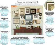 Chicago Home + Garden | The Hang of It - how to arrange wall art